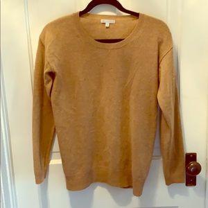 GAP cashmere sweater. Small spot shown
